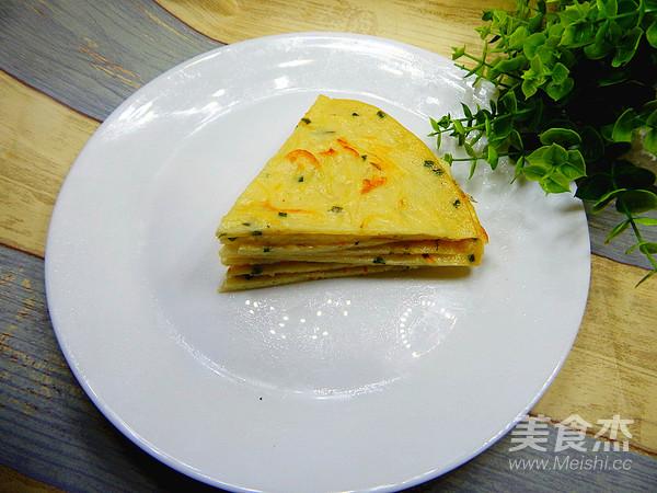 霸王超市-土豆丝煎饼的制作