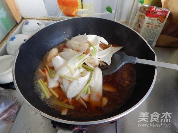 水煮杏鲍菇怎样煸
