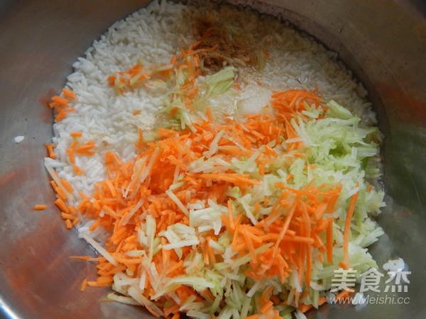 米饭煎饼怎么做