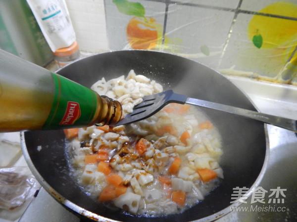 蚝油烧鸡丁藕怎么煮
