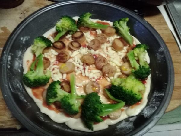 虾仁披萨怎么炒