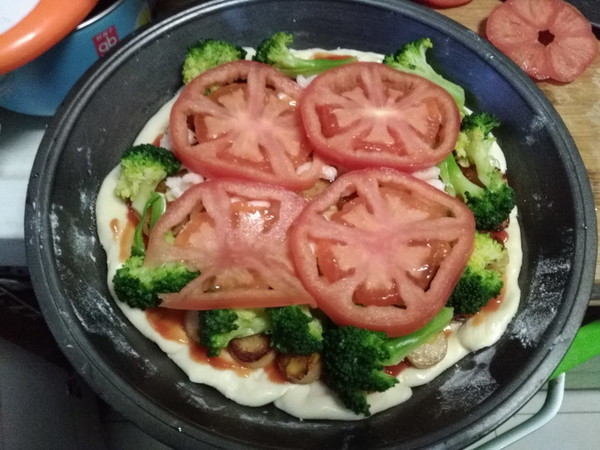 虾仁披萨怎么炖