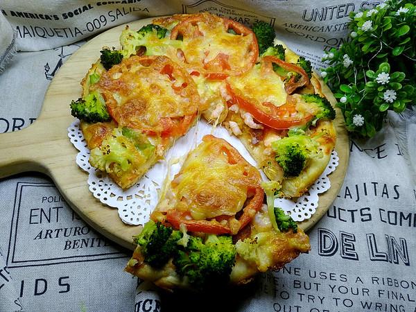 虾仁披萨怎样炒