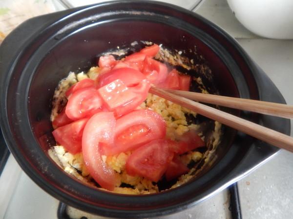 番茄鸡蛋米线汤的简单做法