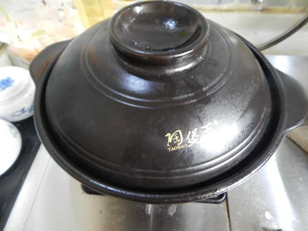 砂锅香肠茄子煲的制作方法