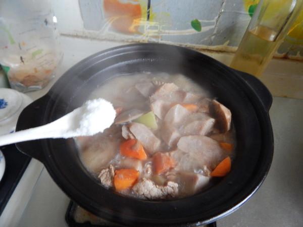 芋头烧肉块怎样做