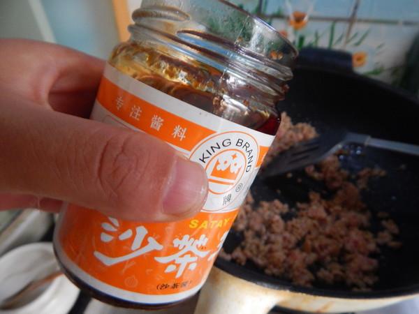 肉末金针菇茄子煲怎么炒