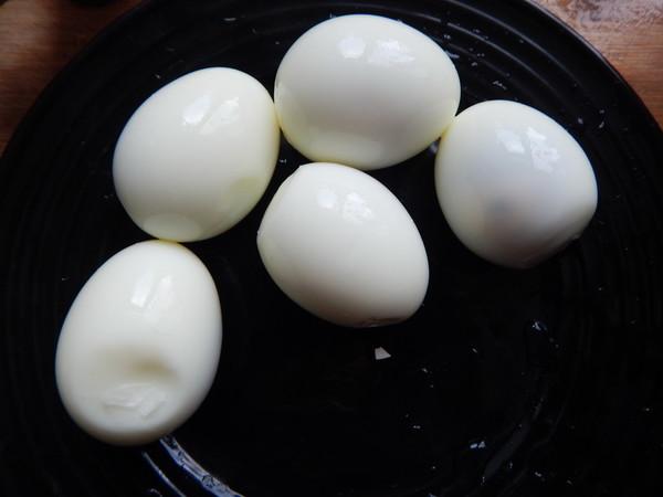 蒜泥鸡蛋的简单做法