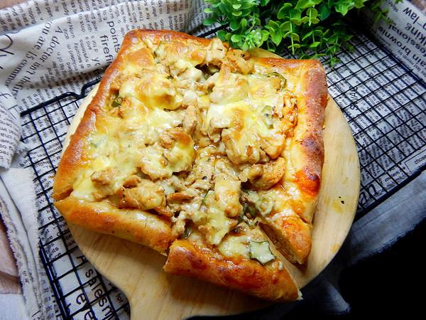 秋葵鸡肉披萨怎样做