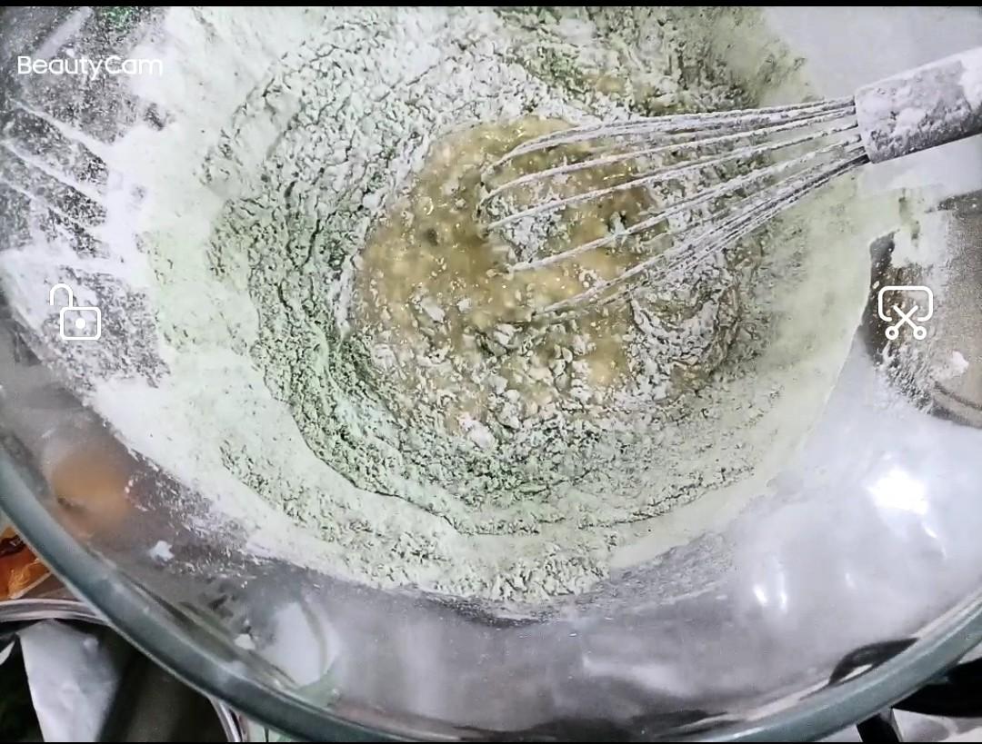 糯米粉蛋糕的步骤