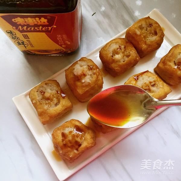 油豆腐酿怎么炒
