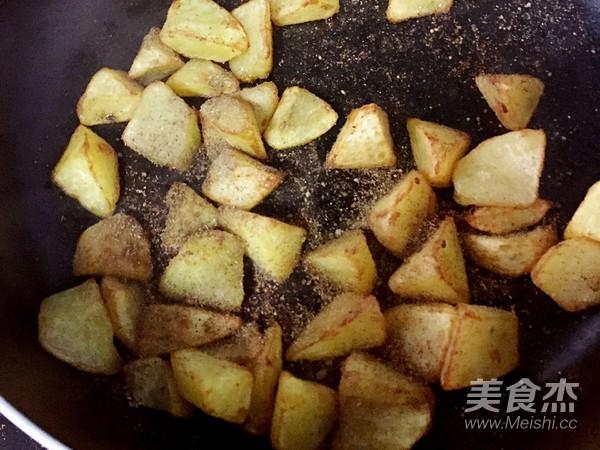 孜然土豆的步驟