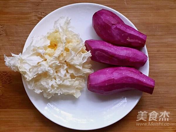 紫薯银耳汤的做法大全