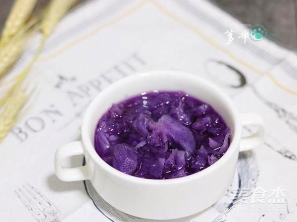 紫薯银耳汤怎么煮
