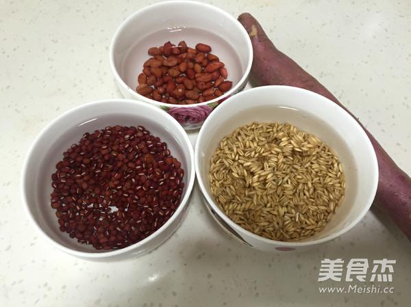 红豆莜麦粒粥的做法图解