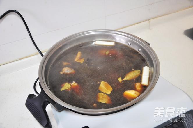 老汁香卤牛肉的家常做法