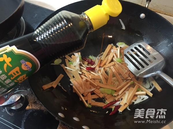 西芹炒豆干怎么吃