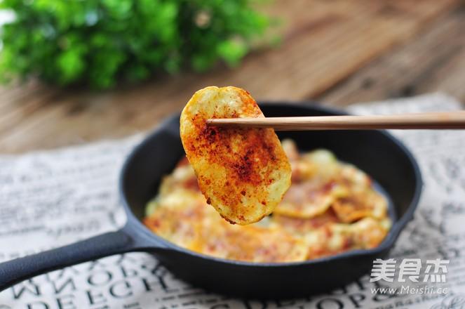 烤土豆片成品图