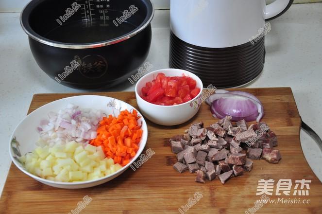 番茄牛肉浓汤的家常做法