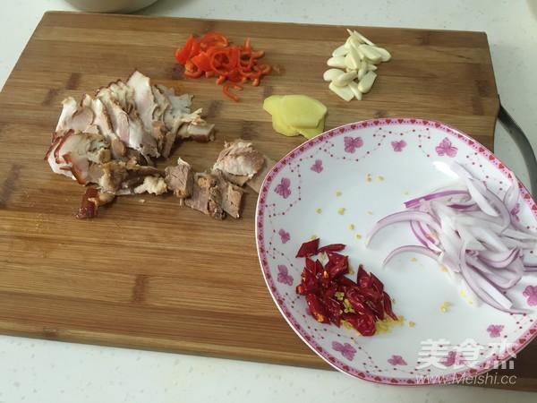 干锅菜花的简单做法