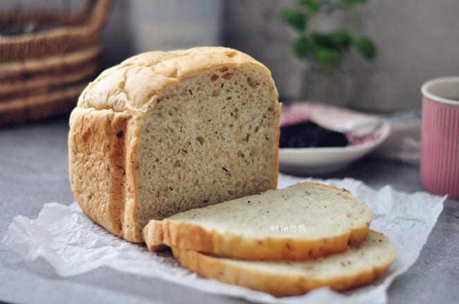 柠檬红茶面包成品图