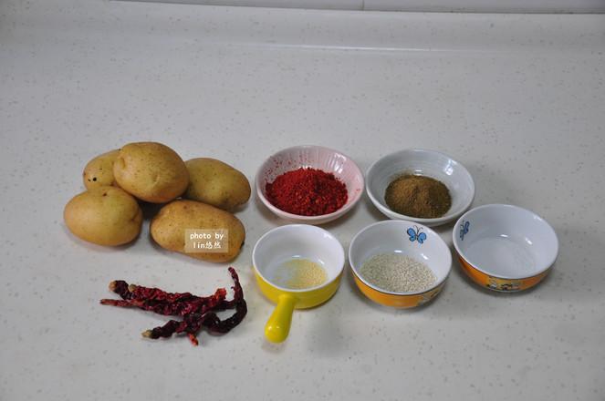 孜然麻辣土豆的做法大全