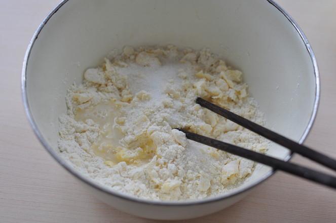 抹茶红豆酥的做法图解