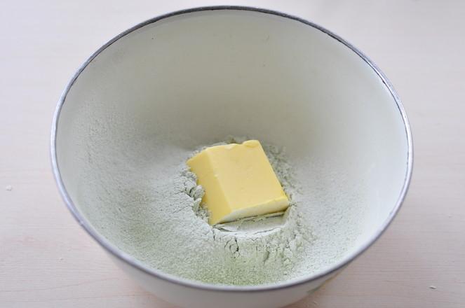 抹茶红豆酥的简单做法