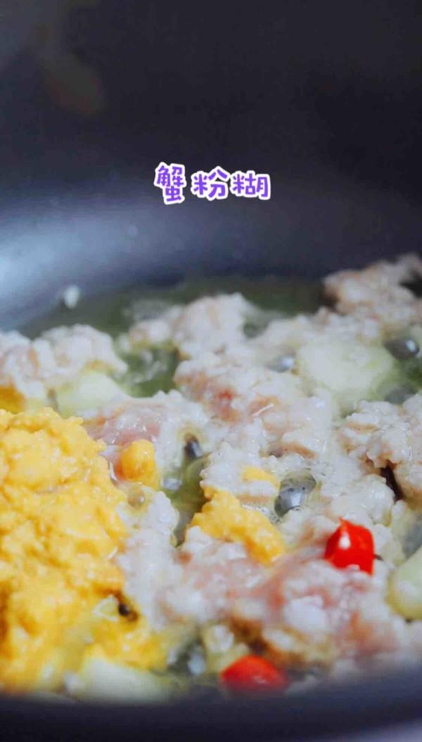 蟹粉虾仁粉丝煲怎么做