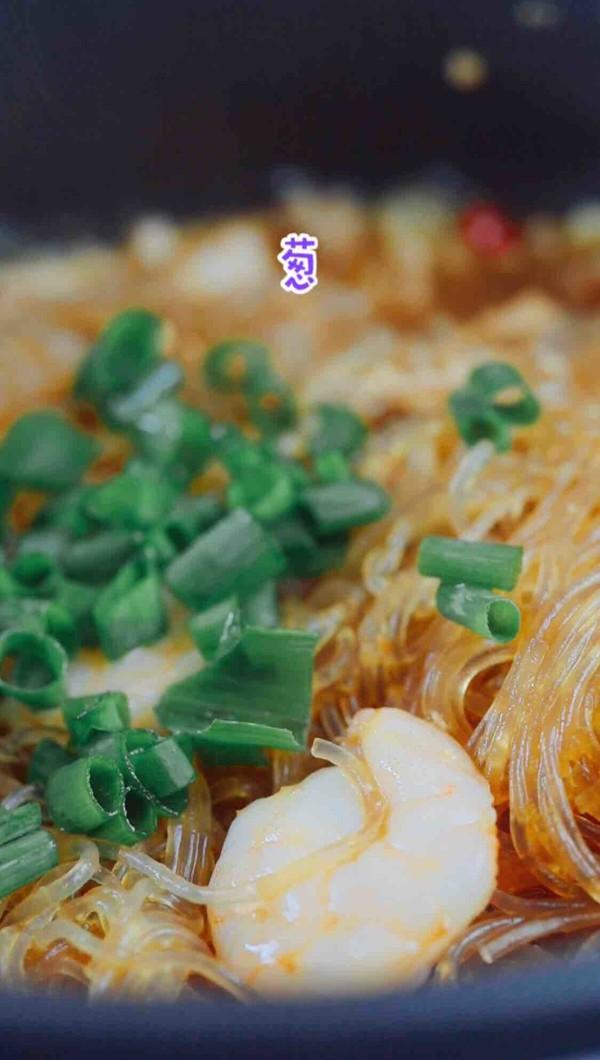 蟹粉虾仁粉丝煲怎样做