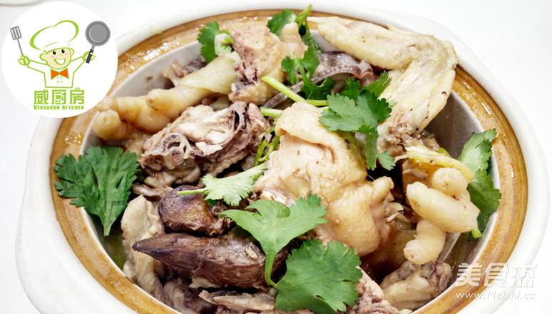 台湾麻油鸡,孕妇产后修复必吃月子餐!--威厨艺成品图