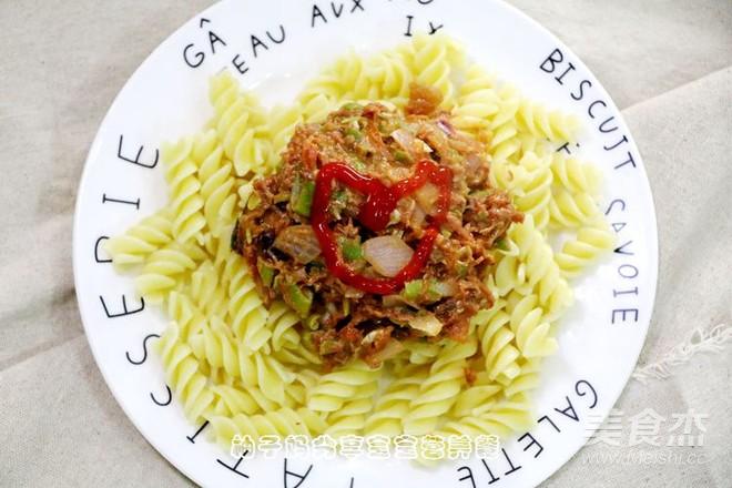 意大利肉酱面成品图