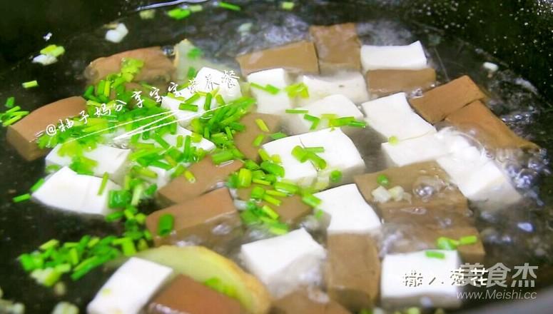 鸭血豆腐羹怎么做
