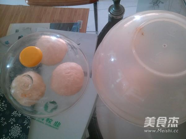绿豆沙辫子面包的家常做法