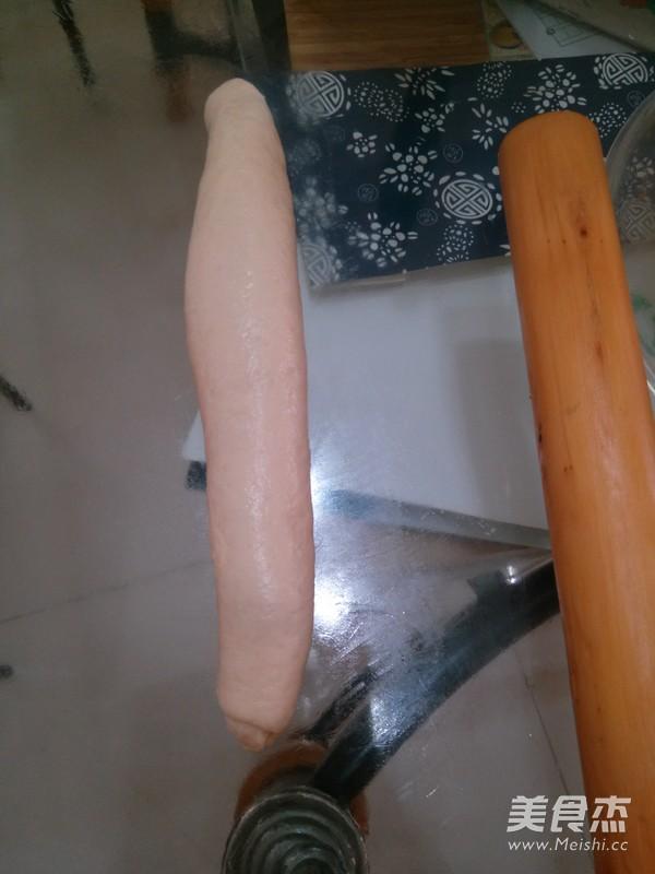 绿豆沙辫子面包怎么做