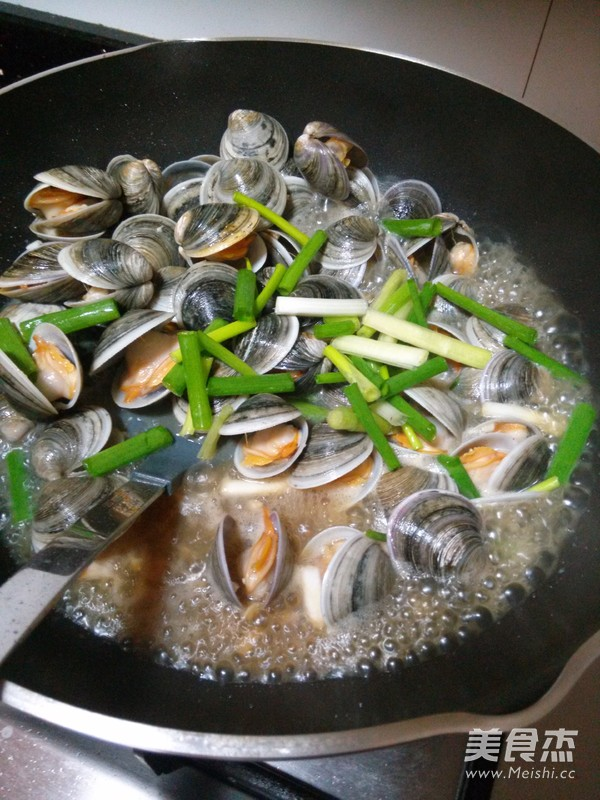 爆炒文蛤怎么吃