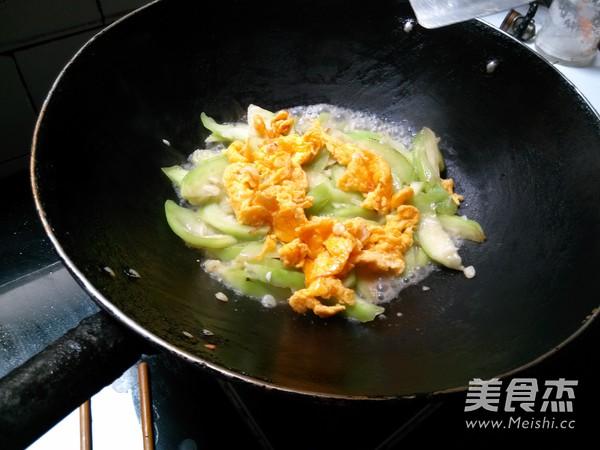 丝瓜炒鸡蛋怎么煮
