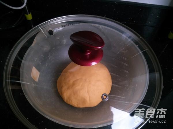 南瓜草帽豆沙包的家常做法