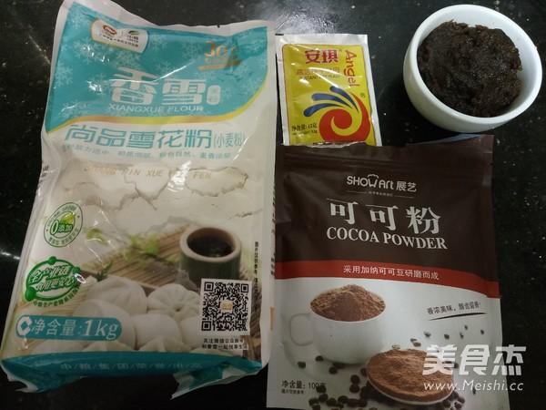 香雪面粉福猴枣泥包的做法大全