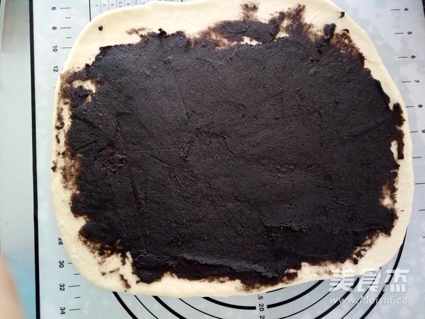 豆沙花纹面包怎么做