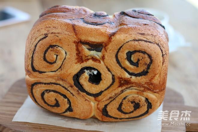 豆沙花纹面包怎样炒