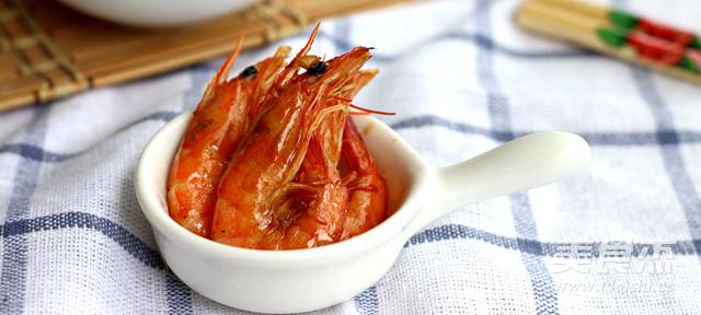 烤蝦成品圖