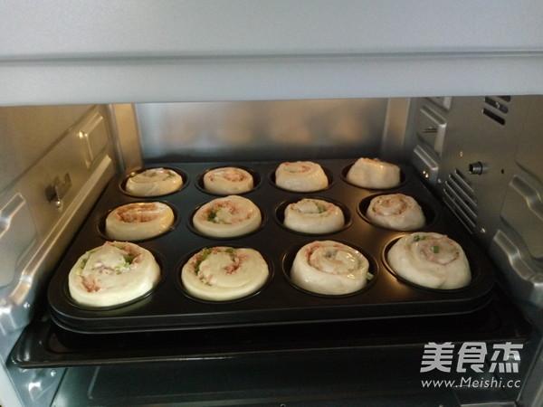 香葱火腿面包卷怎样做