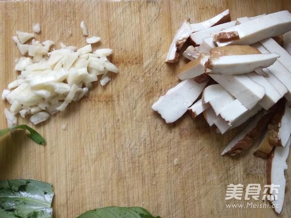 豆腐干炒空心菜的做法图解