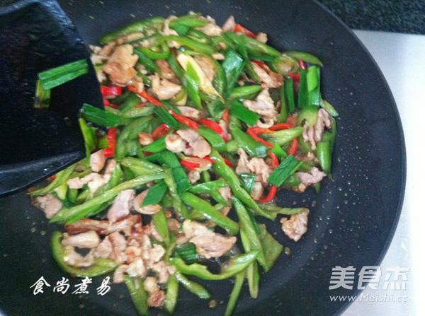 辣椒炒肉丝怎样煮