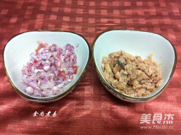 梅香咸鱼煎肉饼的家常做法