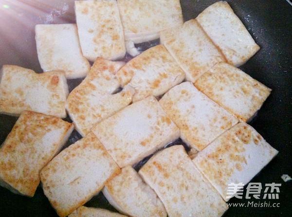 酸菜白肉炖豆腐怎么吃
