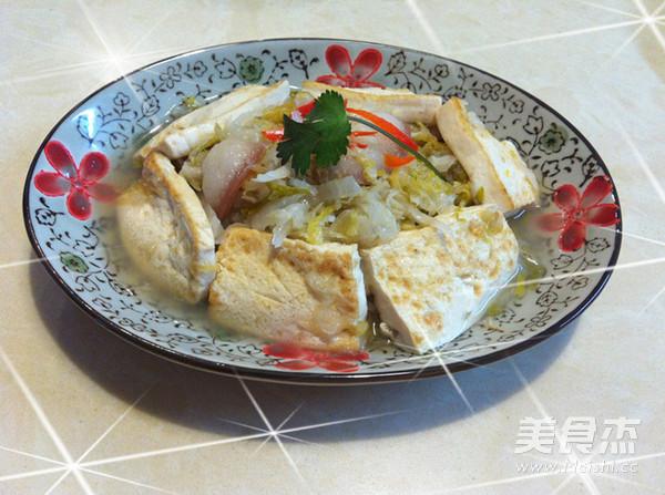酸菜白肉炖豆腐怎样做