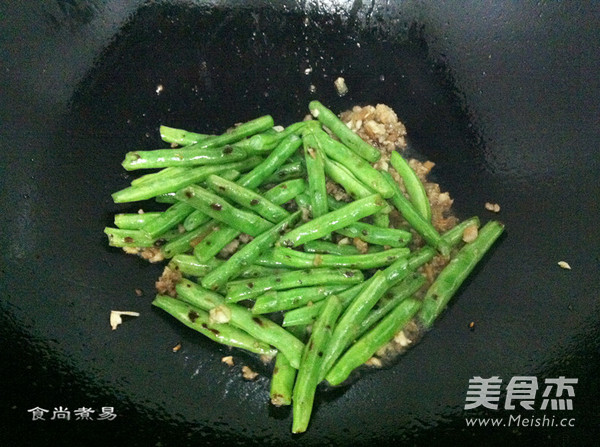 干煸四季豆怎么煮