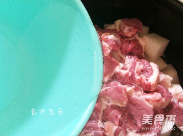牛腩炖萝卜怎么吃